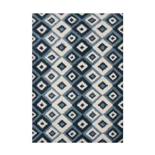 Hand-Tufted Orion Blue Area Rug by The Conestoga Trading Co.