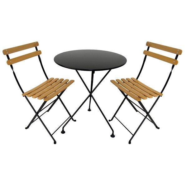 European Café 3 Piece Dining Set by Furniture Designhouse
