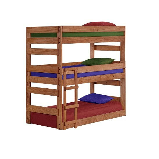 Ching Twin Over Twin Triple Bed By Harriet Bee by Harriet Bee Purchase
