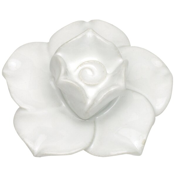 Nature Flower Ceramic Novelty Knob by Atlas Homewares