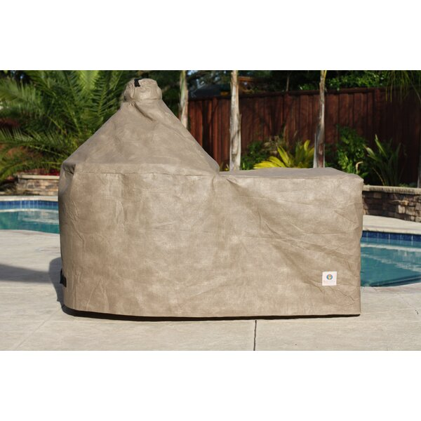 Kaila Large EGG Grill with Cart Cover by Freeport Park