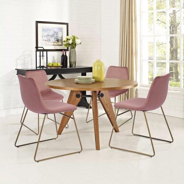Aleena Velvet Upholstered Side Chair (Set Of 2) By Foundstone