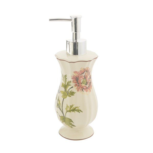 Daphne Lotion Dispenser by Croscill Home Fashions