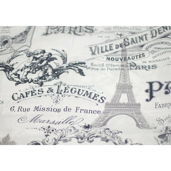 Paris and Eiffel Inspired Shower Curtain by Ophelia & Co.