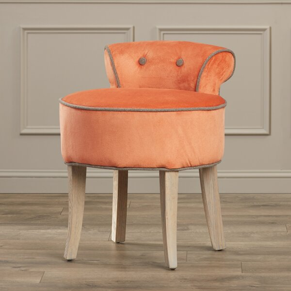 Snell Vanity Stool by Darby Home Co