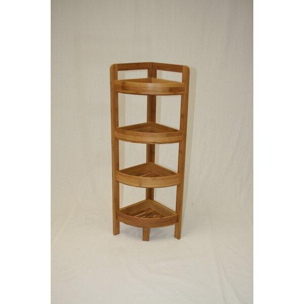 Dengler 4 Tier Bamboo Corner Unit By Harriet Bee