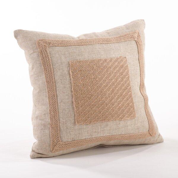 Tela Ruvida Throw Pillow by Saro
