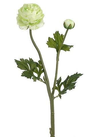 Ranunculus Spray Stem (Set of 2) by House of Hampton