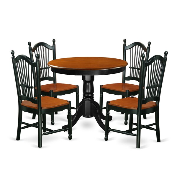 Rune 5 Piece Dining Set by August Grove