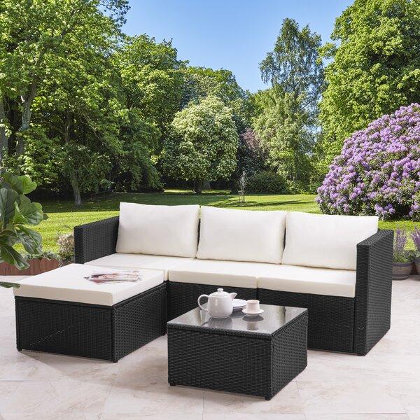 Rattan Outdoor Corner Sofa   Wayfair.co.uk