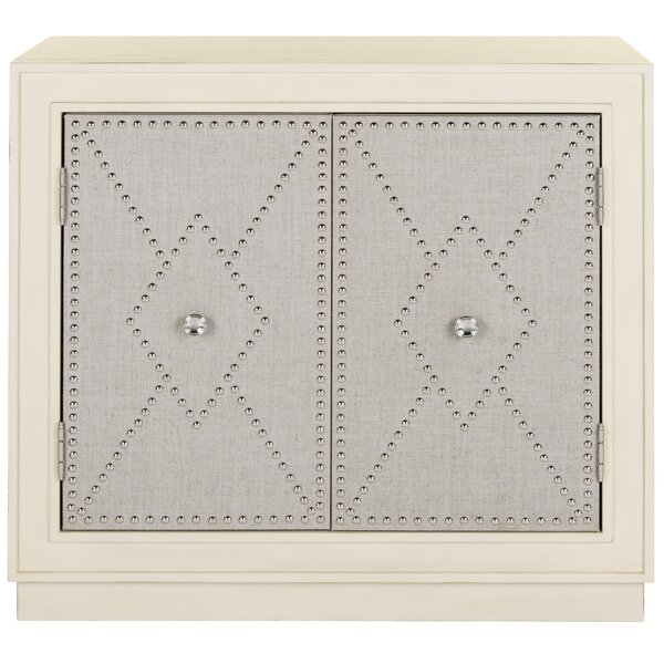 Maximilian 2 Door Accent Cabinet by Everly Quinn Everly Quinn