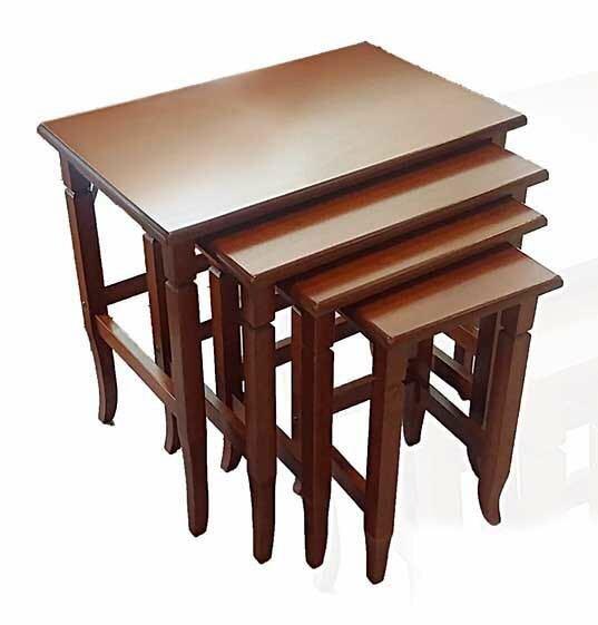 Read Reviews Chou 4 Piece Nesting Tables