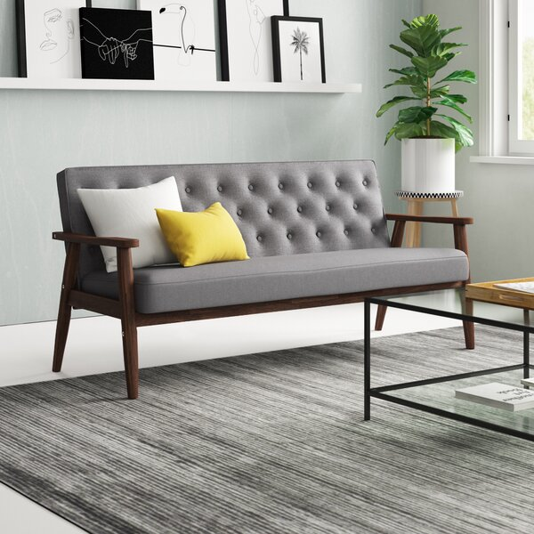 Zipcode Design Zoee 3 Seater Sofa & Reviews | Wayfair