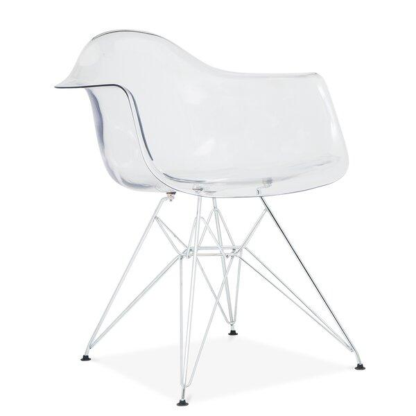 Quast Modern Acrylic Dining Chair by Orren Ellis