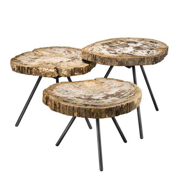 De Soto 3 Piece Coffee Table Set By Eichholtz