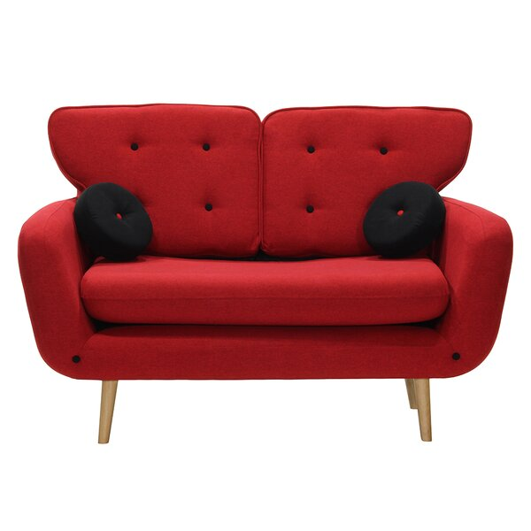 Billiot Loveseat by Brayden Studio