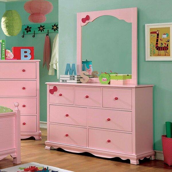 Glenwood 7 Drawer Double Dresser by Zoomie Kids