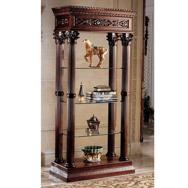 Broadgate Grand Curio Cabinet by Design Toscano