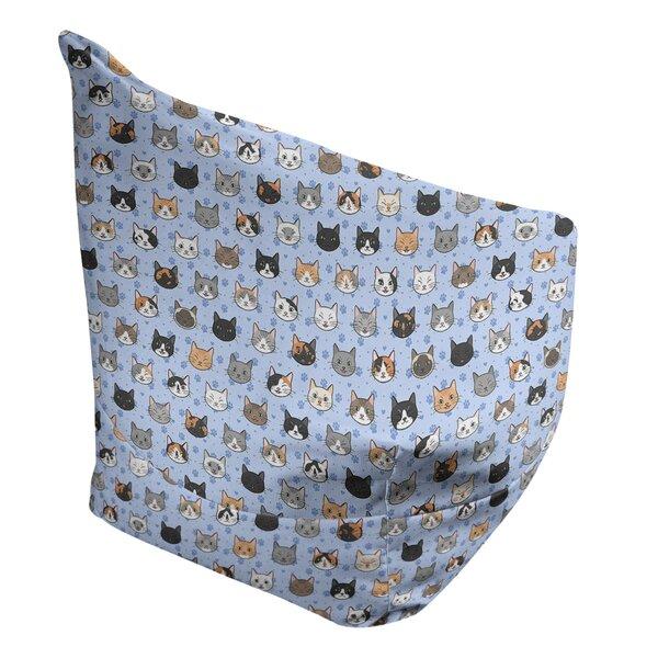 Kitterman Small Bean Bag Chair & Lounger By Ebern Designs