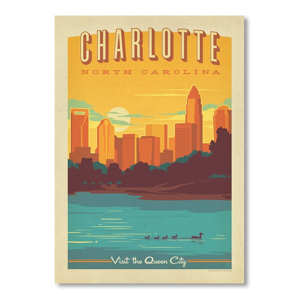 Charlotte Vintage Advertisement by East Urban Home