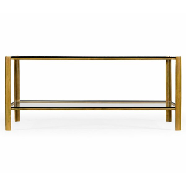 Jonathan Charles Fine Furniture Glass Top Coffee Tables