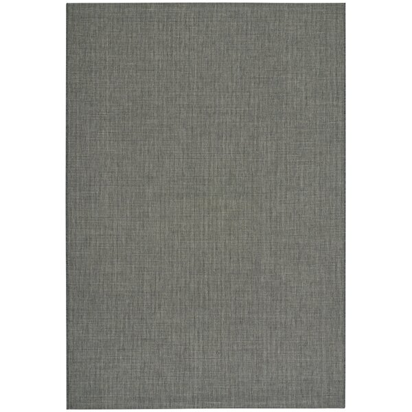 Ridge Coal Indoor/Outdoor Area Rug by Capel Rugs