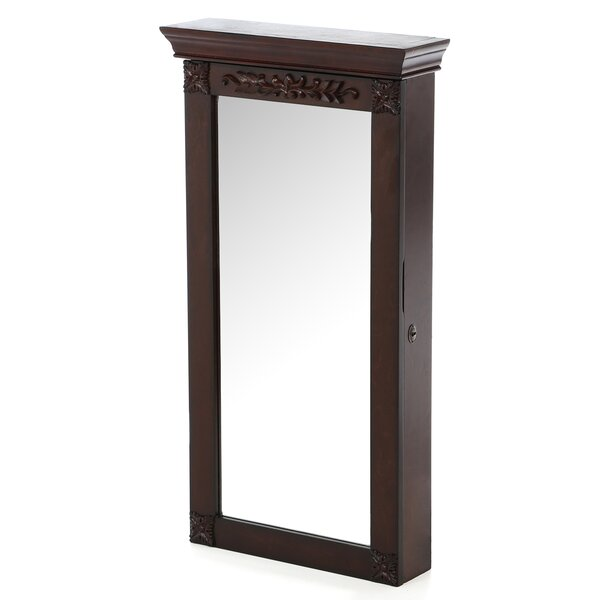 Horstman Wall Mount Jewelry Armoire with Mirror by Alcott Hill