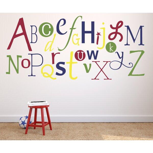 Alphabet Fun Primary Wall Decal by Alphabet Garden Designs