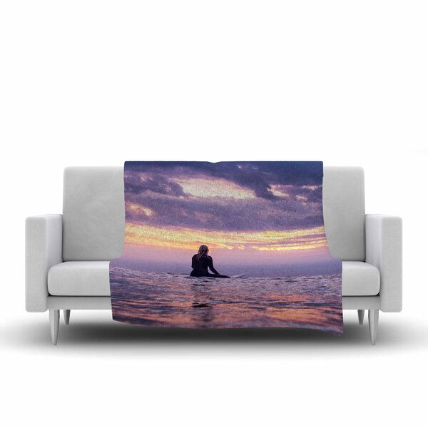 Colin Pierce Soul Search Photography Fleece Throw by East Urban Home