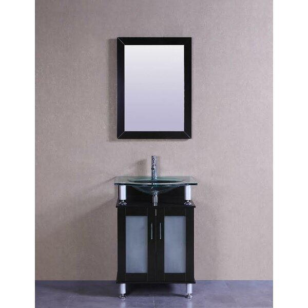 Signature Series 24 Single Modern Bathroom Vanity Set by Belvedere BathSignature Series 24 Single Modern Bathroom Vanity Set by Belvedere Bath