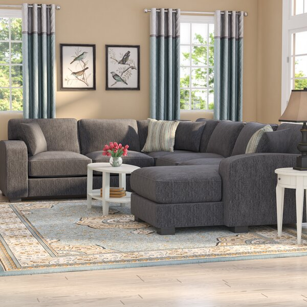 Chesterfield Reversible Sectional by Andover Mills