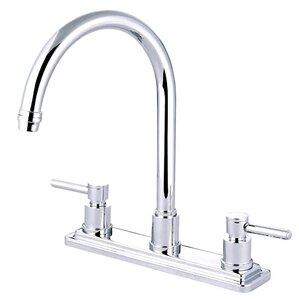 Elements of Design South Beach Double Handle Kitchen Faucet