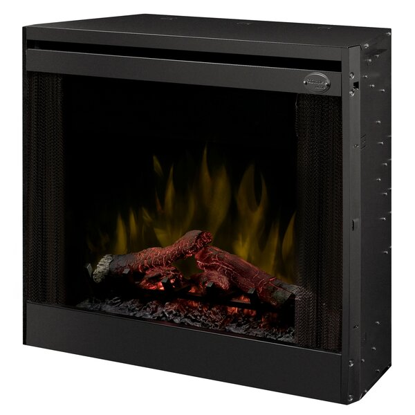 Slim Line Wall Mounted Electric Fireplace by Dimpl