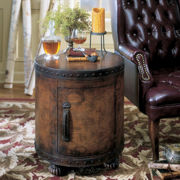 Hobson End Table With Storage