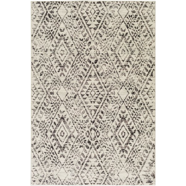 Zita Beige Area Rug by Bungalow Rose