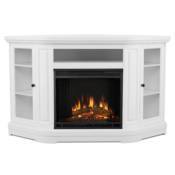 Windom Corner Media Electric Fireplace By Real Flame