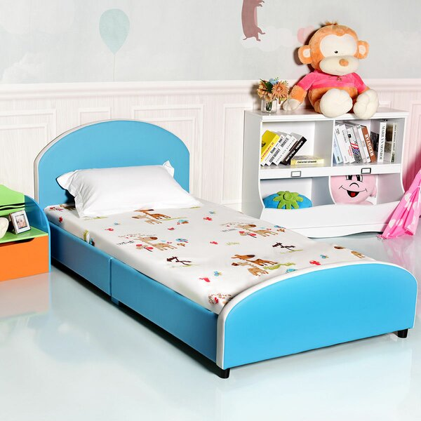 Fitzgerald Kids Twin Platform Bed by Zoomie Kids