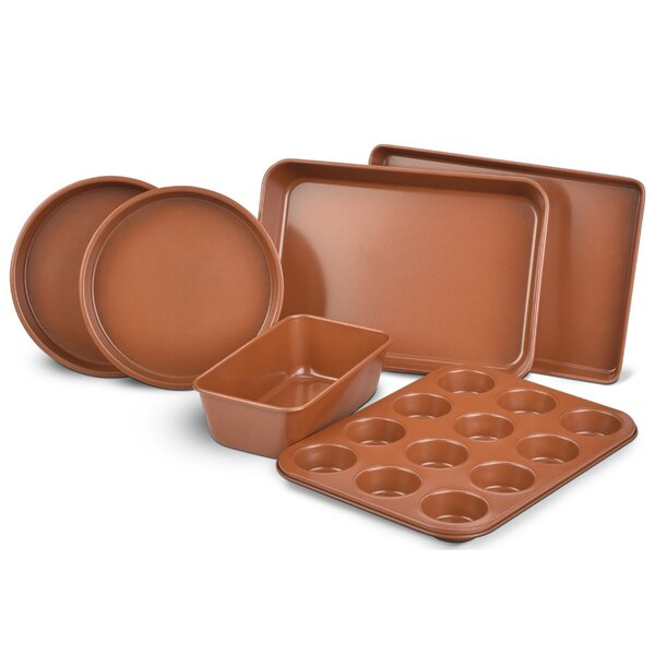 Premium 6 Piece Non-Stick Bakeware Set by Eternal