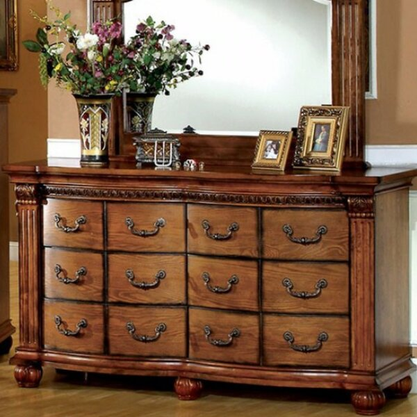 Dorcey 12 Drawer Double Dresser by Astoria Grand