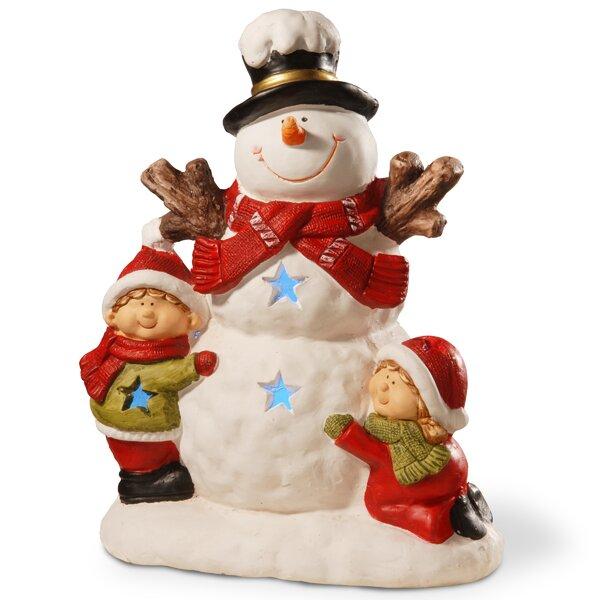 16.5 Lighted Snowman Décor Figurine by The Holiday Aisle