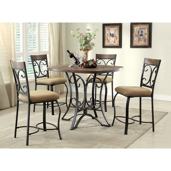 Amazing Guild Counter Height Dining Table By Fleur De Lis Living Design