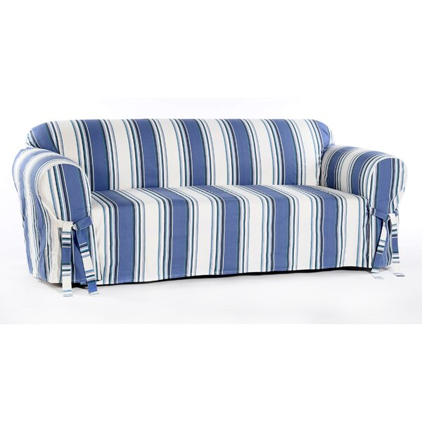 Box Cushion Loveseat Slipcover By Beachcrest Home