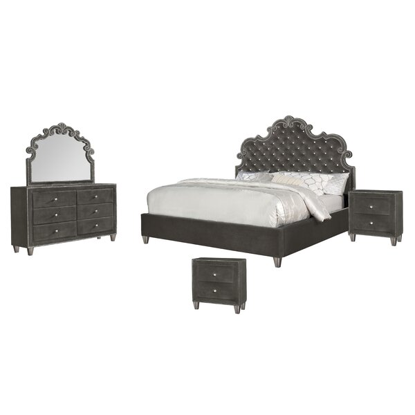 Sciortino Standard 5 Piece Bedroom Set by Astoria Grand