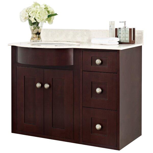 Haakenson Transitional 36 Wall-Mounted Single Bathroom Vanity Set by Red Barrel Studio