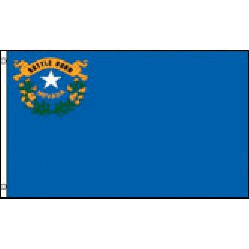 Nevada State Traditional Flag by NeoPlex