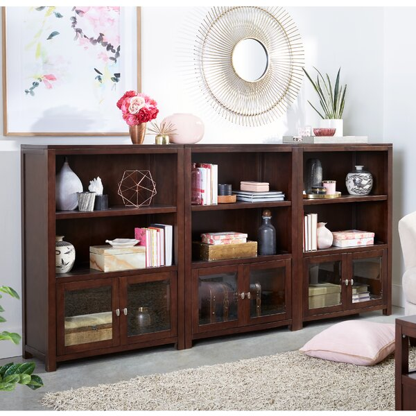 Erskine Library Bookcase (Set Of 3) By Canora Grey