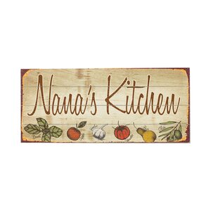 Personalized Kitchen Vintage Advertisement Multi-Piece Image on Wood by Artehouse LLC