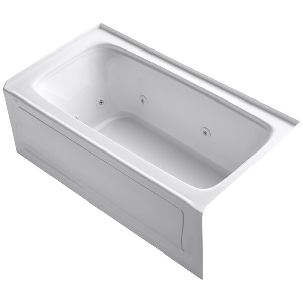 Bancroft 60 x 32 Whirlpool Bathtub by Kohler