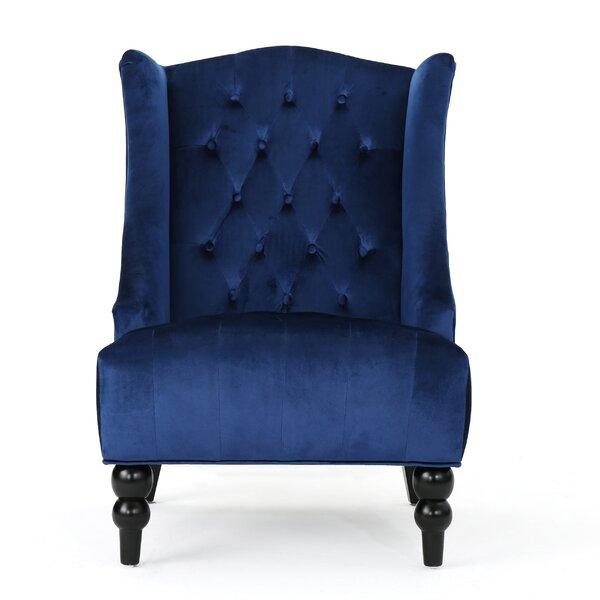 Potterslane Wingback Chair by Alcott Hill
