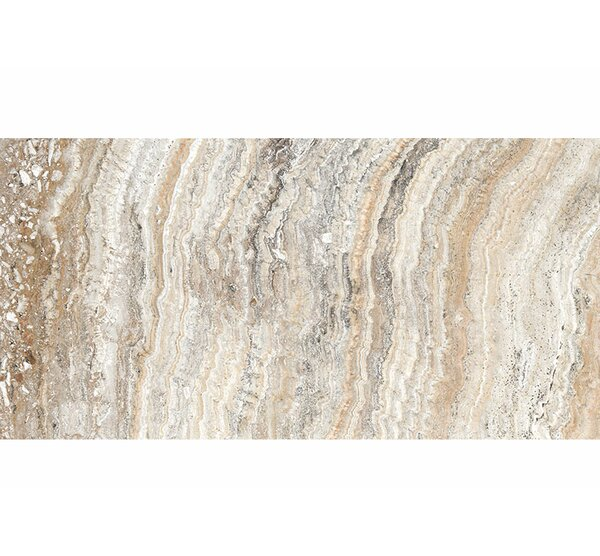 Laguna 12 x 24 Travertine Field Tile in Beige by Parvatile